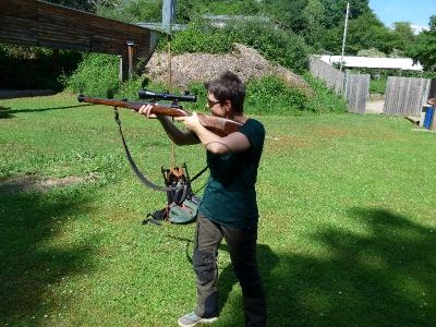 Praxisschießen am Jägerstand