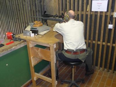 Kundenwaffen einschießen