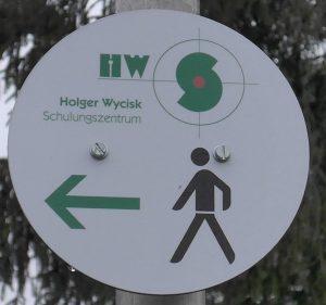 Fußweg zum HWS-Schulungszentrum