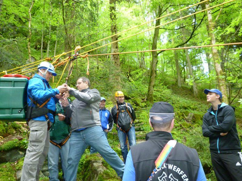 HWS - Erlebniswelt - Teamtraining