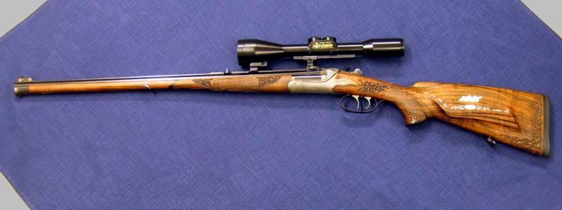 Exklusive Jagd- und Sammlerwaffen: Ischler-Stutzen Hahnwaffe von J. Fanzoi