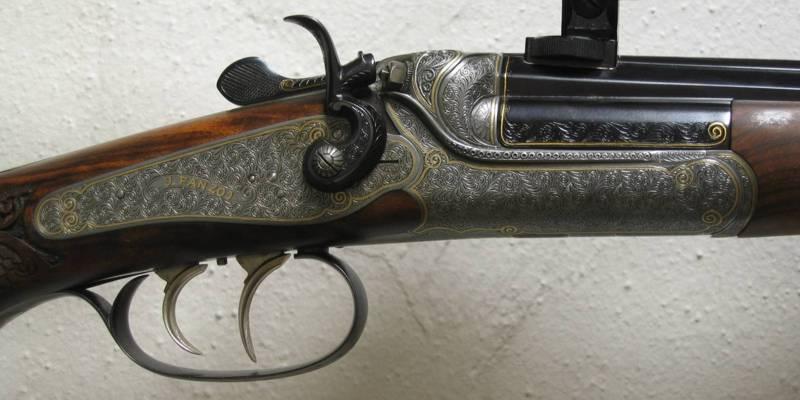 Ischler-Stutzen Hahnwaffe von J. Fanzoi